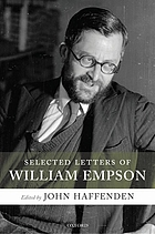 Selected letters of William Empson