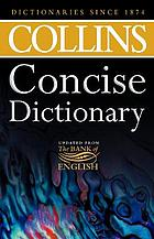 Collins concise dictionary.