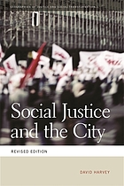 Social Justice and the City (Revised Edition).