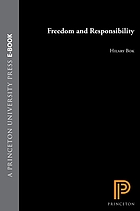 Freedom and responsibility