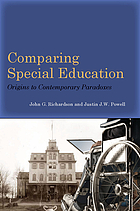 Comparing special education : origins to contemporary paradoxes