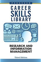 Research and information management.