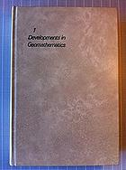 Geomathematics. Mathematical background and geo-science applications.