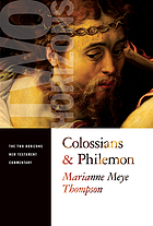 A commentary on Colossians and Philemon