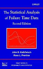 The statistical analysis of failure time data