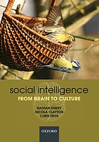 Social intelligence : from brain to culture