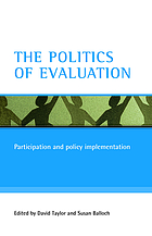 The politics of evaluation : participation and policy implementation
