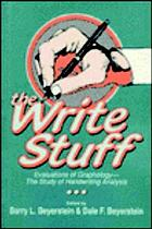 The Write stuff : evaluations of graphology, the study of handwriting analysis