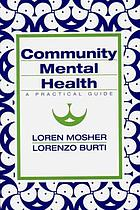 Community mental health : a practical guide