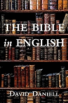 The Bible in English : its history and influence