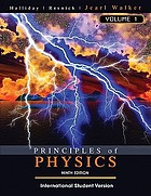 Halliday & Resnick principles of physics