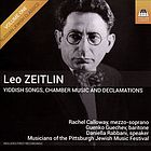 ZEITLIN, L.: Yiddish Songs, Chamber Music and Declamations, Vol. 1 (Calloway, Guechev, Rabbani)