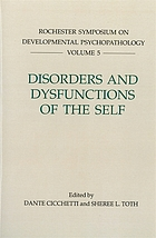 Disorders and dysfunctions of the self