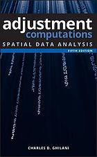 Adjustment computations : spatial data analysis