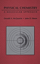 Physical chemistry : a molecular approach