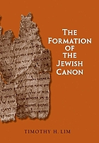 The formation of the Jewish canon