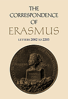 Collected works of Erasmus. vol. 1-14, The correspondence.