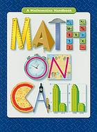 Math on call : a mathematics handbook. Grades 7-8.