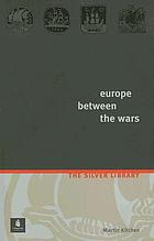 Europe between the wars : a political history