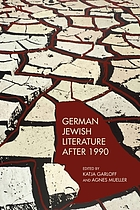 German Jewish literature after 1990