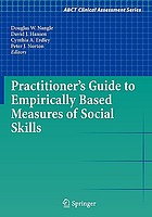 Practioner's guide to empirically-based measures of social skills