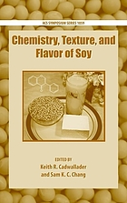 Chemistry, texture, and flavor of soy
