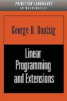 Linear programming and extensions.