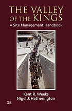 The valley of the Kings : a site management handbook