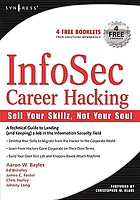 InfoSec career hacking : sell your skillz, not your soul