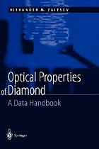 Optical properties of diamond a data handbook