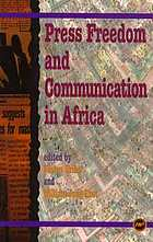 Press freedom and communication in Africa