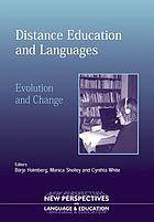 Distance education and languages : evolution and change