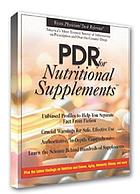 PDR for nutritional supplements.
