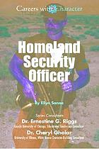 Homeland security officer