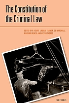 The Constitution of the Criminal Law.