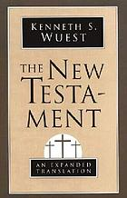 New testament - an expanded translation.