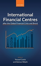 International financial centres after the global financial crisis and Brexit