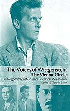 The voices of Wittgenstein : the Vienna circle : original German texts and English translations
