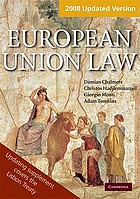European Union Law Book and Updating Supplement Pack Supplement Pack Text and Materials.