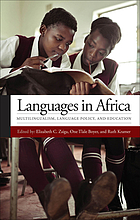 Languages in Africa : multilingualism, language policy, and education