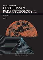 Encyclopedia of occultism & parapsychology. Vol. 2, M-Z and indexes.