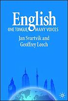 English : one tongue, many voices