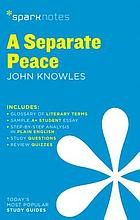 A separate peace, John Knowles.