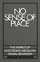 No sense of place : the impact of electronic media on social behavior