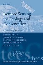 Remote sensing for ecology and conservation : a handbook of techniques
