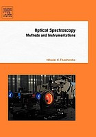 Optical spectroscopy : methods and instrumentations