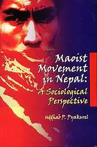 Maoist movement in Nepal : a sociological perspective