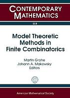 Model Theoretic Methods in Finite Combinatorics