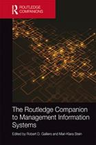 The Routledge companion to management information systems.