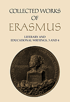 Collected works of Erasmus. Vol.25-26, Literary and educational writings, 3-4 / edited by J.K. Sowards.